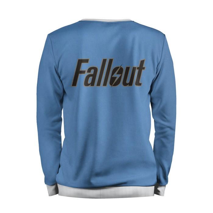 Merch Sweatshirt Fallout Vault Boy Shelter Art