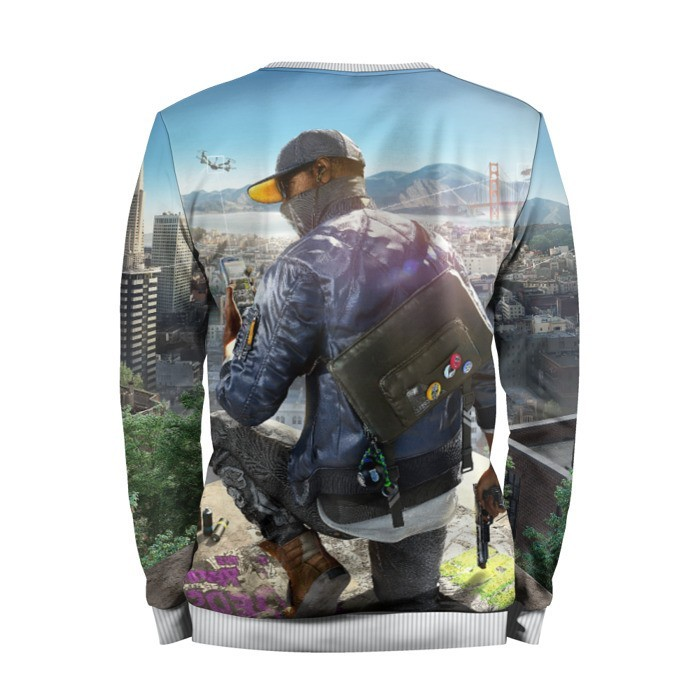 Merchandise Sweatshirt Watch Dogs 2 Best Merch