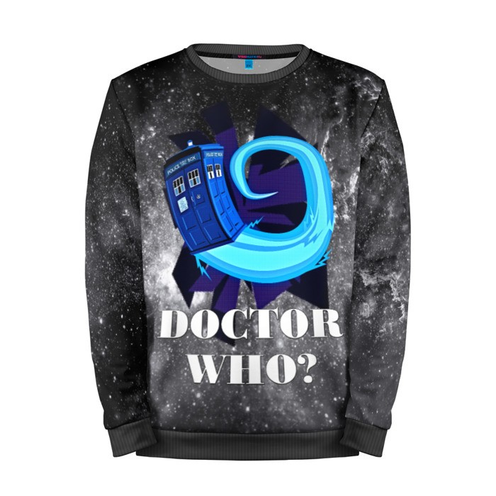 Buy Mens Sweatshirt 3D: Doctor who Tardis Animation Art Merchandise collectibles