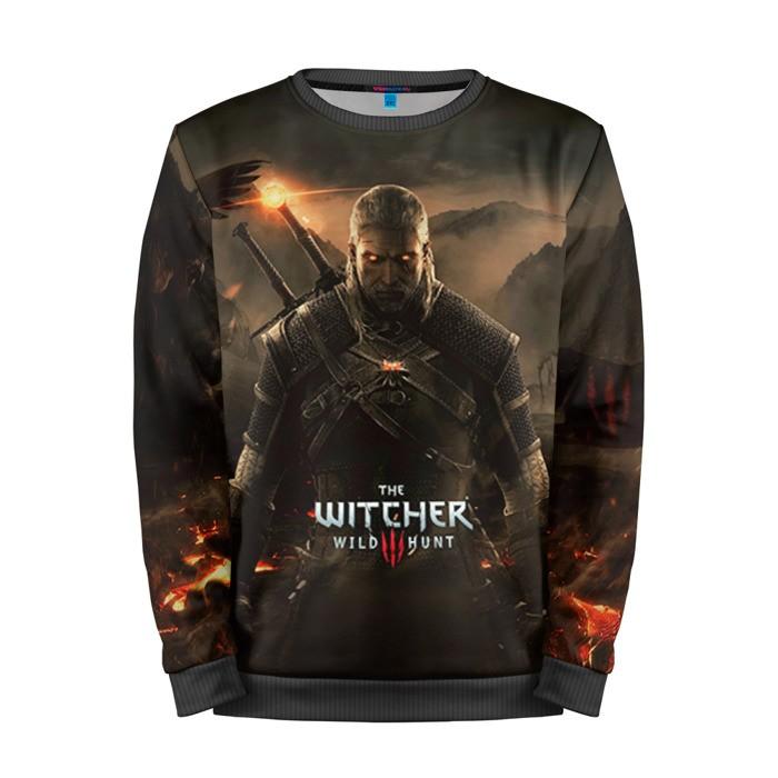 Merch Sweatshirt Wild Hunt Gear Stuff The Witcher
