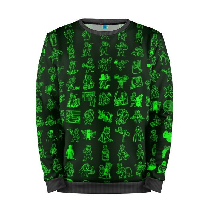 Merchandise Sweatshirt Pip Boy Art Inspired Vault Boy Fallout