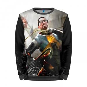 Buy Mens Sweatshirt 3D: Half Life Freeman Game Merch Art merchandise collectibles