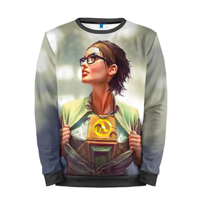Buy Mens Sweatshirt 3D: Alyx Vance Half Life Game Art merchandise collectibles