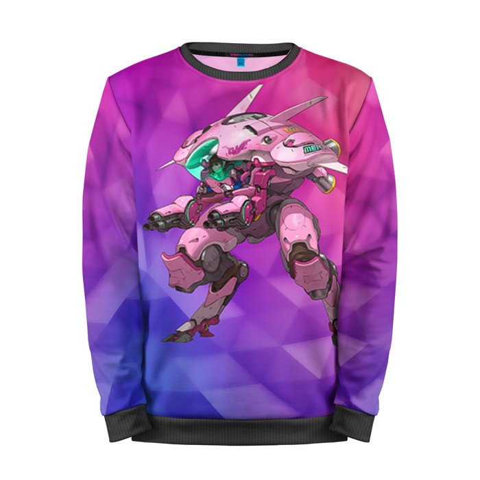 Buy Mens Sweatshirt 3D: Overwatch Gear merchandise collectibles