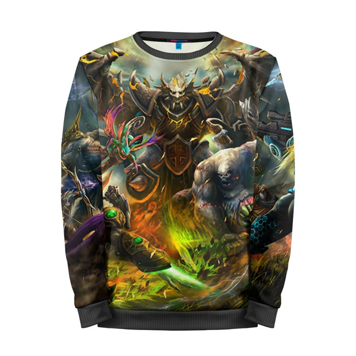 Buy Mens Sweatshirt 3D: Wacraft Universe Mobs Merchandise collectibles