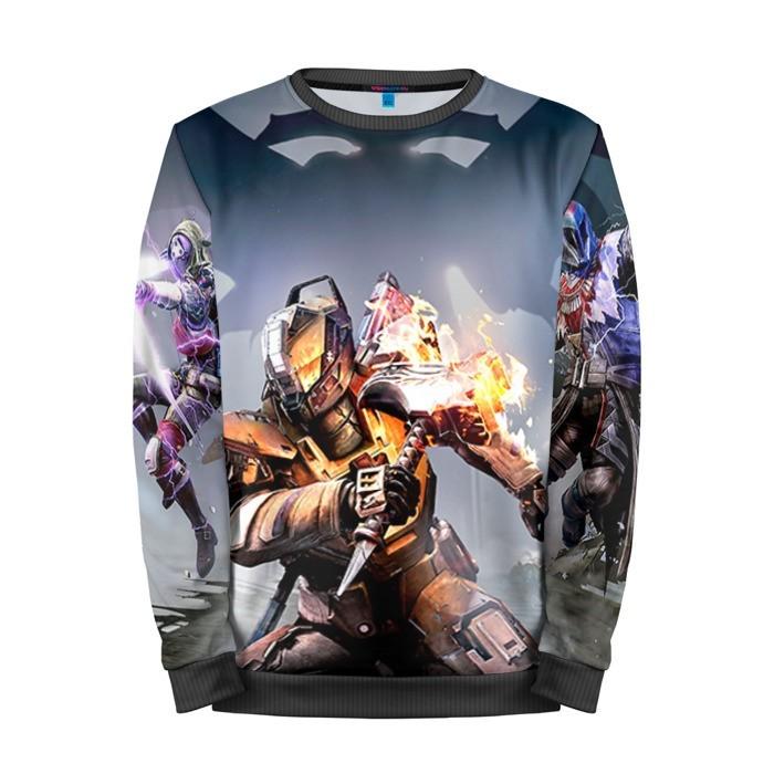 Buy Mens Sweatshirt 3D: Destiny 7 Game Merchandise collectibles
