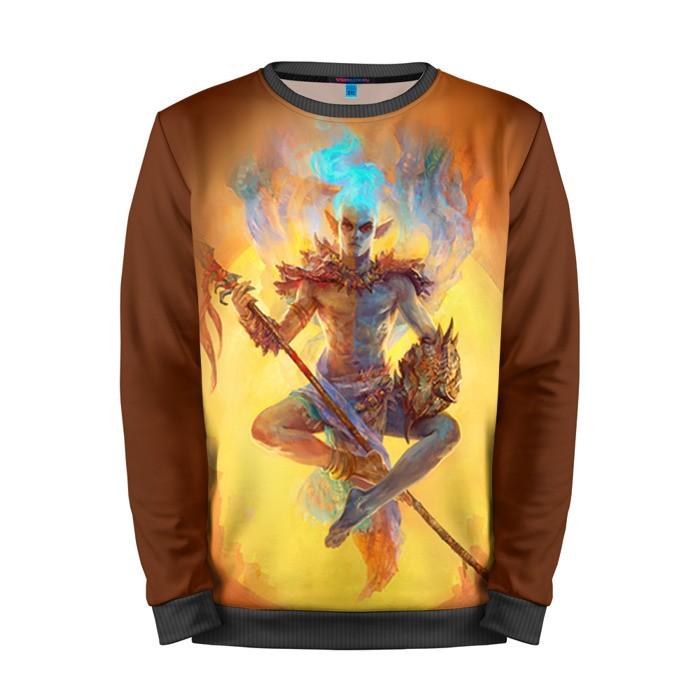 Buy Mens Sweatshirt 3D: Vivec The Elder Scrolls Merchandise collectibles