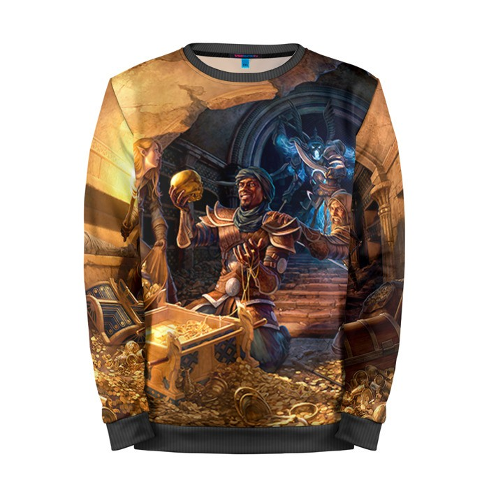 Buy Mens Sweatshirt 3D: TES 4 The Elder Scrolls Merchandise collectibles