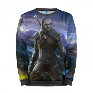 Buy Mens Sweatshirt 3D: Picture Merchandise The Witcher merchandise collectibles