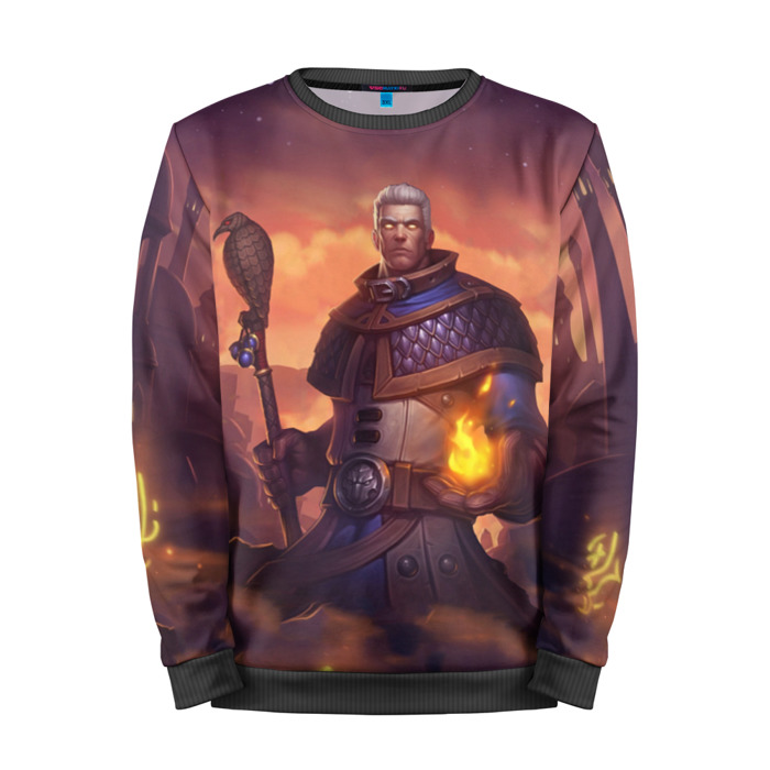 Buy Mens Sweatshirt 3D: Khadgar Hearthstone Merchandise collectibles