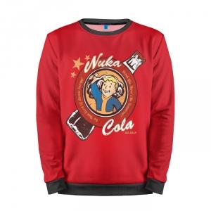 Buy Mens Sweatshirt 3D: Fallout Nuka Cola Vault Boy merchandise collectibles