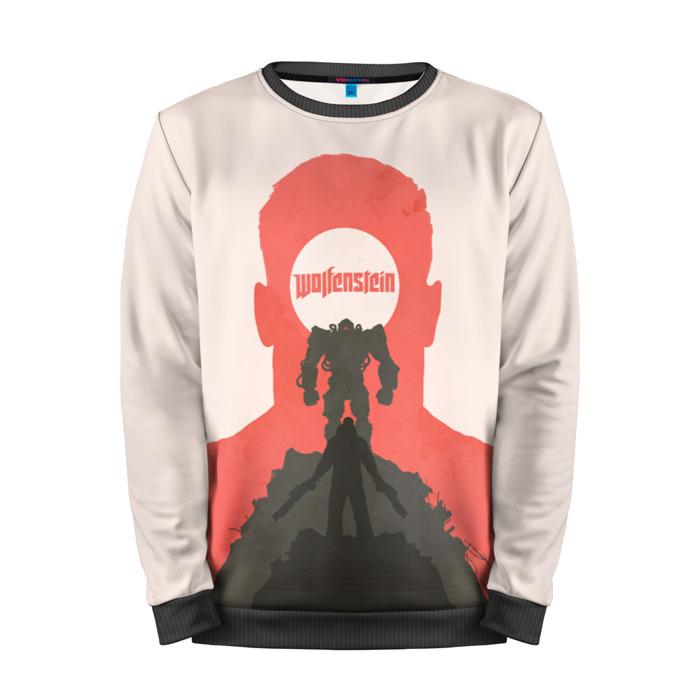 Buy Mens Sweatshirt 3D: Wolfenstein Clothing merchandise collectibles