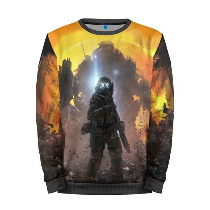 Buy Mens Sweatshirt 3D: Titanfall Merch merchandise collectibles