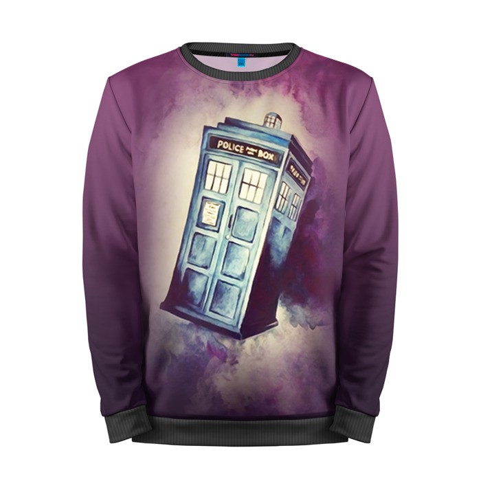 Buy Mens Sweatshirt 3D: Tardis Time machine Doctor Who Merchandise collectibles
