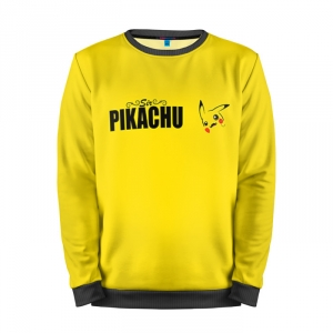 Buy Mens Sweatshirt 3D: Sir Pikachu Pokemon Go
