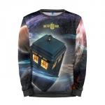 Merchandise Sweatshirt Tardis Doctor Who Art Call Box Apparel
