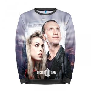 Buy Mens Sweatshirt 3D: Doctor Who Christopher Eccleston 9th Doctor Merchandise collectibles