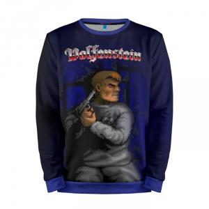 Buy Mens Sweatshirt 3D: Wolfenstein Collectibles merchandise collectibles
