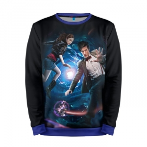 Buy Mens Sweatshirt 3D: Art Doctor Who Matt Smith 11th Merchandise collectibles