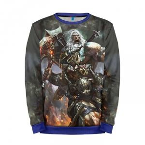 Buy Mens Sweatshirt 3D: Diablo 3 Barbarian Warrior Merchandise collectibles