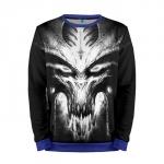 Merchandise Sweatshirt Diablo 2 Character Evil Game Sweater