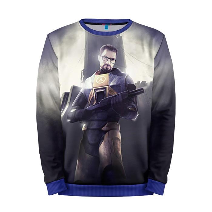 Buy Mens Sweatshirt 3D: Half Life Freeman Game character merchandise collectibles