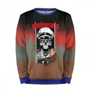 Buy Mens Sweatshirt 3D: Wolfenstein Illustration merchandise collectibles