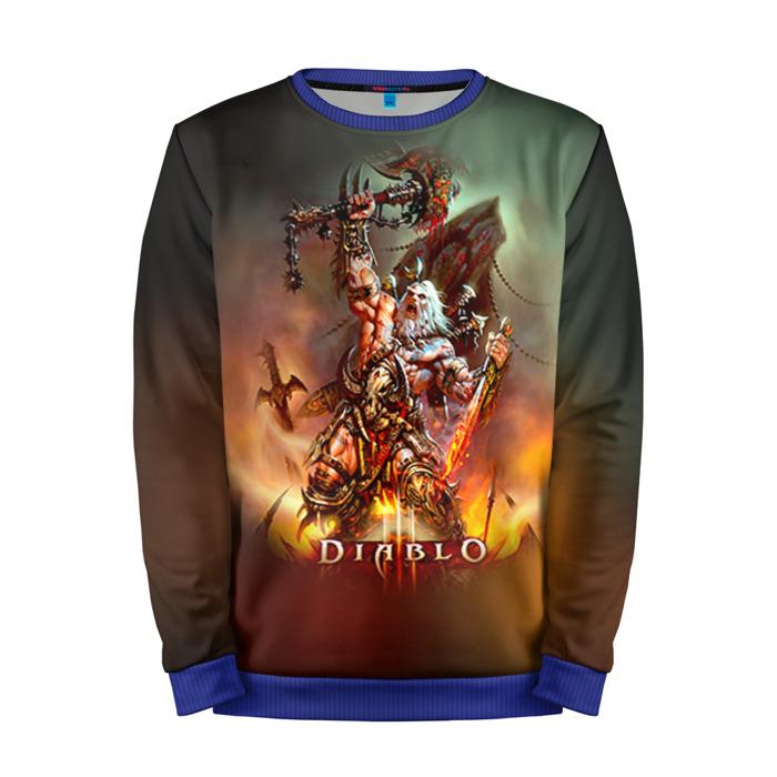 Buy Mens Sweatshirt 3D: Diablo 1 Warrior Character Merchandise collectibles