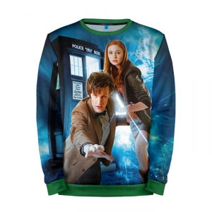 Buy Mens Sweatshirt 3D: Doctor Who Merchandise Art Matt Smith 11th Merchandise collectibles