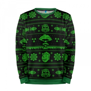 Buy Mens Sweatshirt 3D: Nuclear winter Fallout Inspired X mas merchandise collectibles