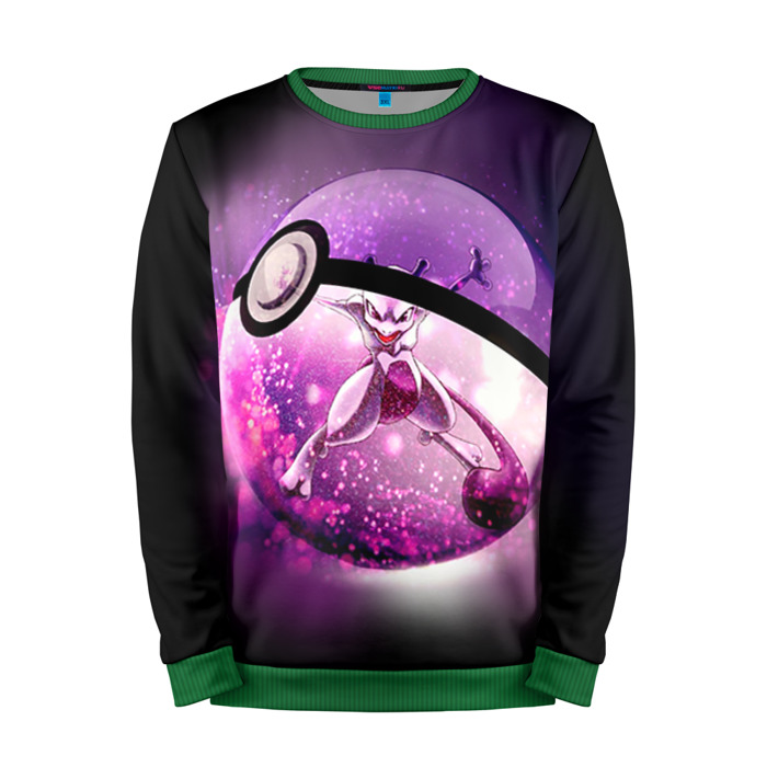Buy Mens Sweatshirt 3D: 3 Pokemon Go merchandise collectibles