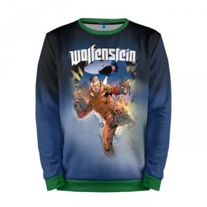 Buy Mens Sweatshirt 3D: Wolfenstein Jumper merchandise collectibles