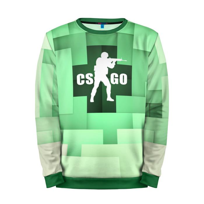 Buy Mens Sweatshirt 3D: CS:GO Counter Strike Minecraft merchandise collectibles