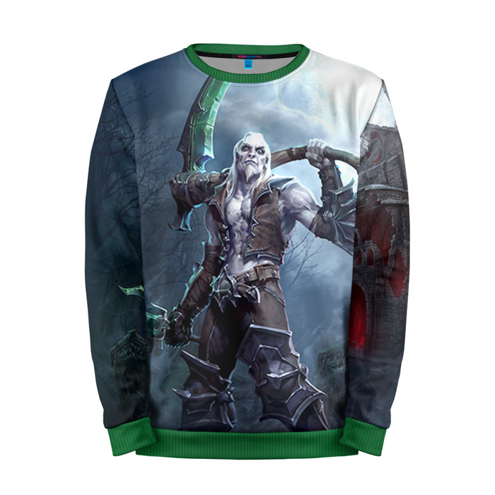 Buy Mens Sweatshirt 3D: Xul Diablo Necromancer Merchandise collectibles