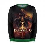 Merchandise Sweatshirt Diablo 3 Main Cover Game Sweater