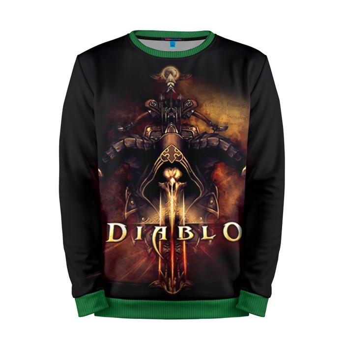 Buy Mens Sweatshirt 3D: Diablo 3 Main cover Merchandise collectibles
