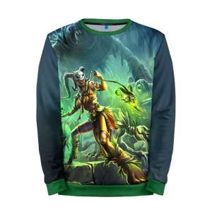 Buy Mens Sweatshirt 3D: Diablo Witch Character Merchandise collectibles