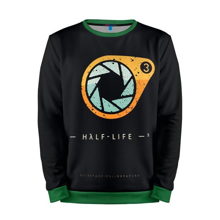 Buy Mens Sweatshirt 3D: Half Life 3 Logotype merchandise collectibles