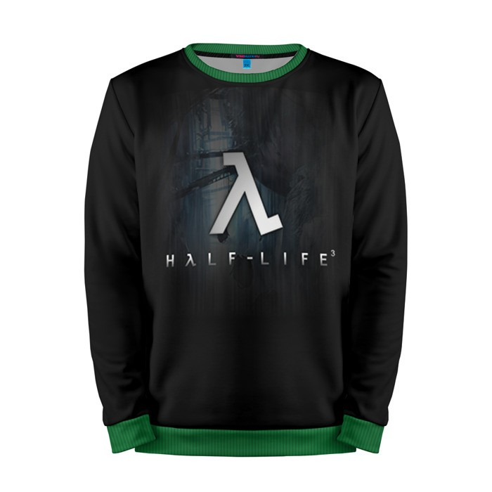 Buy Mens Sweatshirt 3D: Half Life 3 Logo Emblem merchandise collectibles