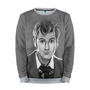 Buy Mens Sweatshirt 3D: Doctor Who Merchandise David Tennant Merchandise collectibles