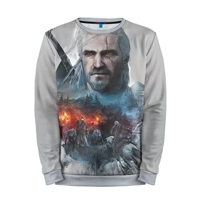 Collectibles Sweatshirt Witcher Geralt Merchandise
