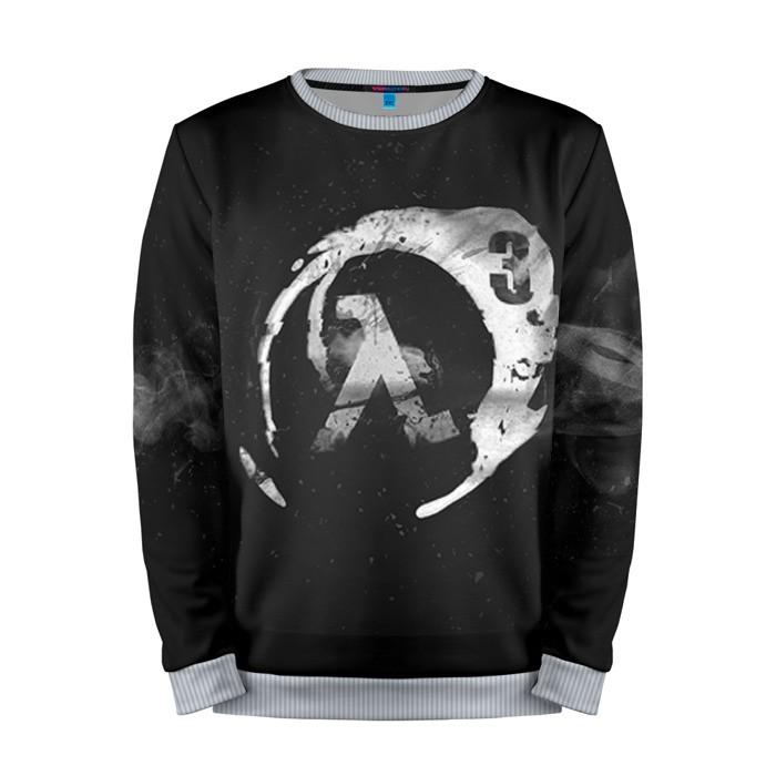 Buy Mens Sweatshirt 3D: Half Life 3 Logo Art Emblem merchandise collectibles