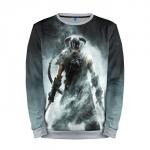 Merchandise Sweatshirt Skyrim Dragonborn The Elder Scrolls