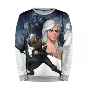 Buy Mens Sweatshirt 3D: Wild Hunt The Witcher Gear merchandise collectibles