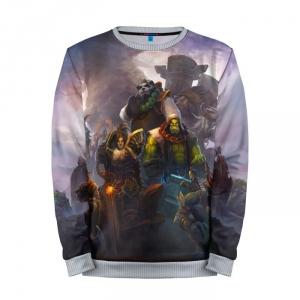 Buy Mens Sweatshirt 3D: Mists of Pandaria World of Warcraft merchandise collectibles
