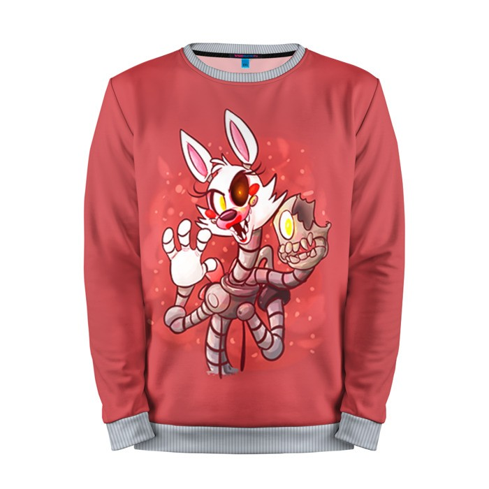 Buy Mens Sweatshirt 3D: Mangle Five Nights At Freddy's Apparel merchandise collectibles