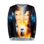 Merch Sweatshirt Doctor Who Tennant Smith 10Th 11Th Doctors