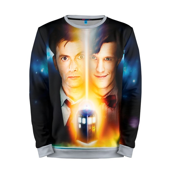 Buy Mens Sweatshirt 3D: Doctor Who Tennant Smith 10th 11th doctors Merchandise collectibles
