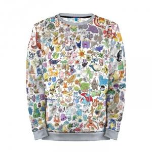 Buy Mens Sweatshirt 3D: Pokemon Pokemon Go merchandise collectibles