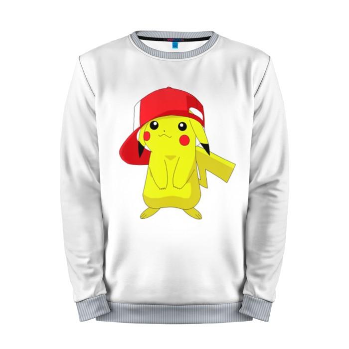 Buy Mens Sweatshirt 3D: Pika Pokemon Go merchandise collectibles
